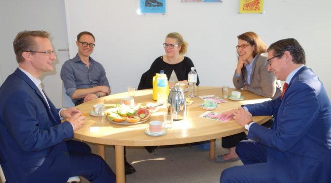 Demokratie zum Anfassen in den Bugenhagenschulen Alsterdorf und Blankenese