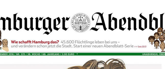 Hamburger Abendblatt vom 24./25. September 2016